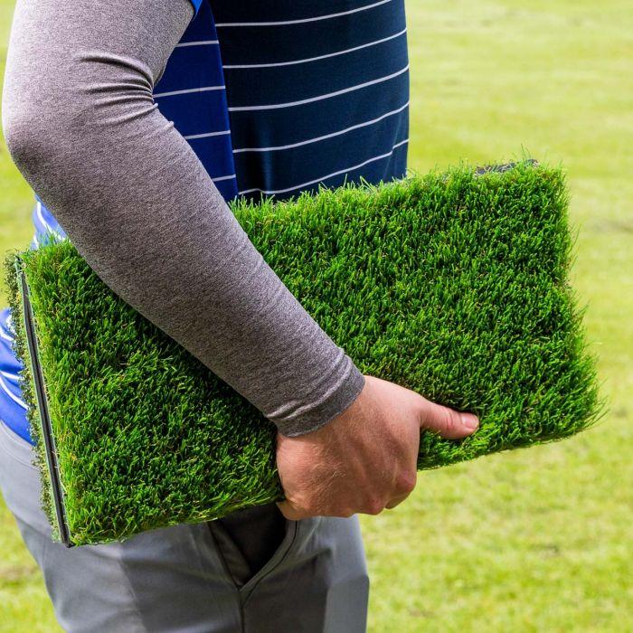 Fold-able Golf Hitting Mat