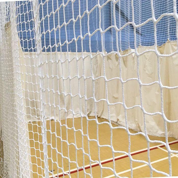 Premium White Cricket Nets