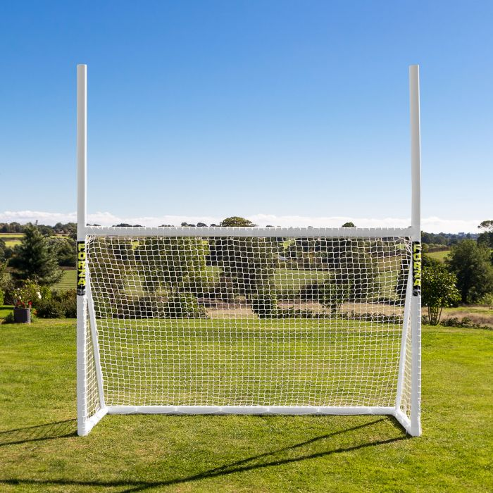 Weatherproof Combination Rugby & Soccer Goal For The Backyard | Net World Sports