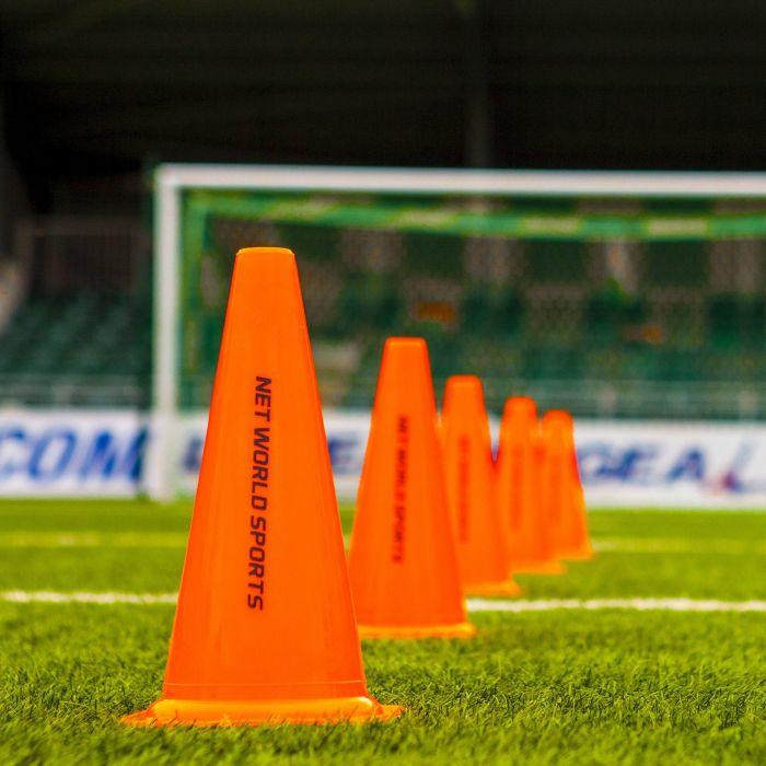 Pack of Football Training Marker Cones
