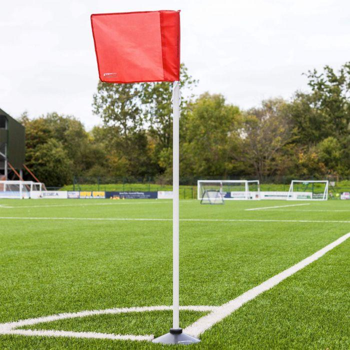 Corner Pole And Corner Flag With Base | Net World Sports