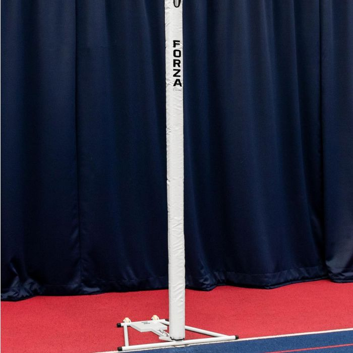 White Netball Post Protector