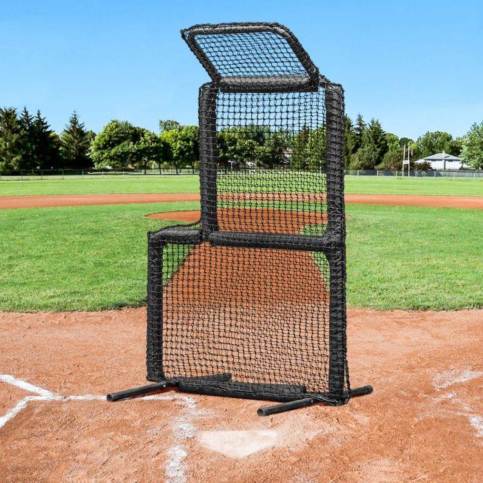 baseball soft toss screen