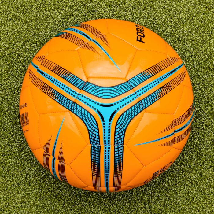 Orange Training Football Design