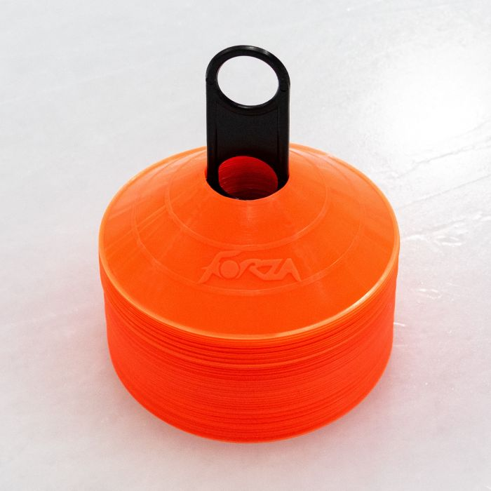 Fluro Orange Ice Hockey Training Cones | Net World Sports