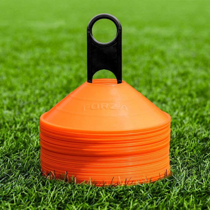 Orange Hockey Marker Cones Available In Packs Of 50 Or 1000