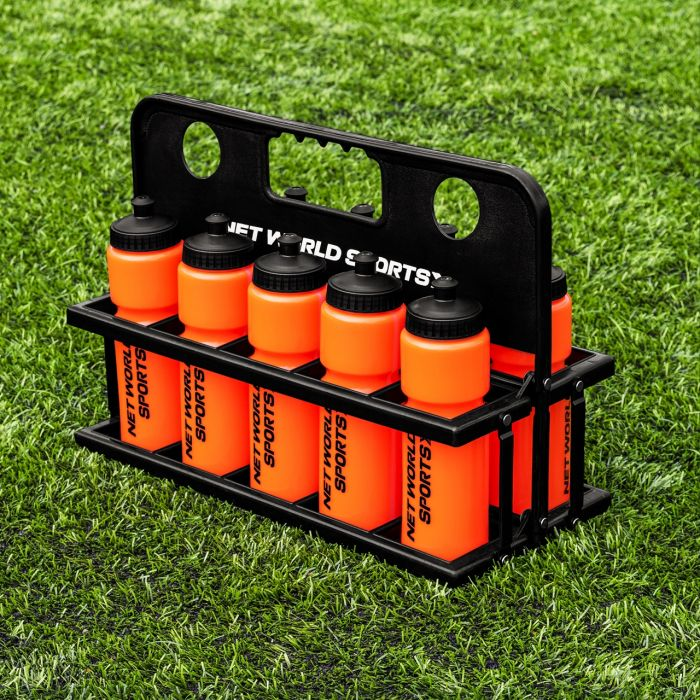 Handheld Water Bottle Carrier | Orange  Drinks Bottles