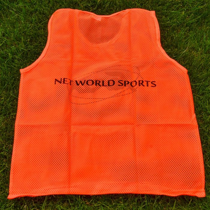 Orange Bibs For Soccer Training