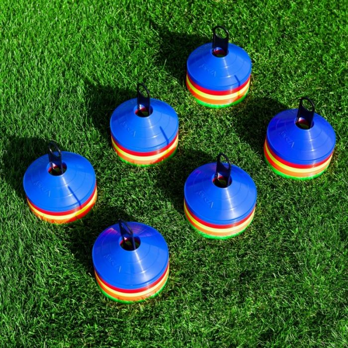 Pack Of 50 Or 1000 Tennis Training Marker Cones