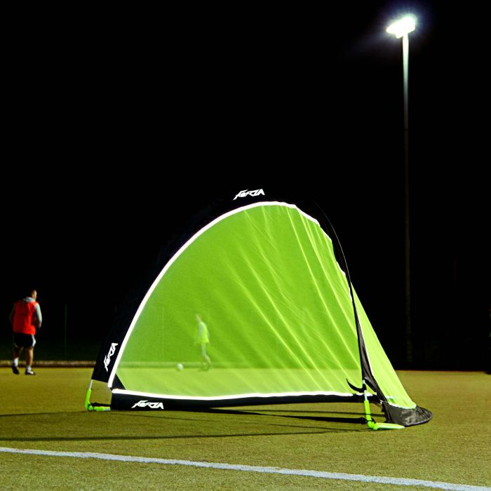 Night-Time Soccer Goals
