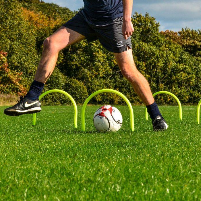 Passing Arcs For Football Training
