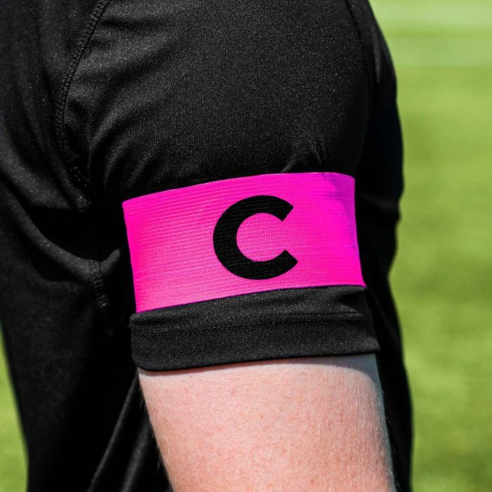 Pink Rugby Captains Armband