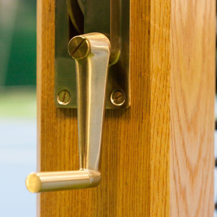 Premium Brass Winder Mechanism For Tennis Posts | Net World Sports