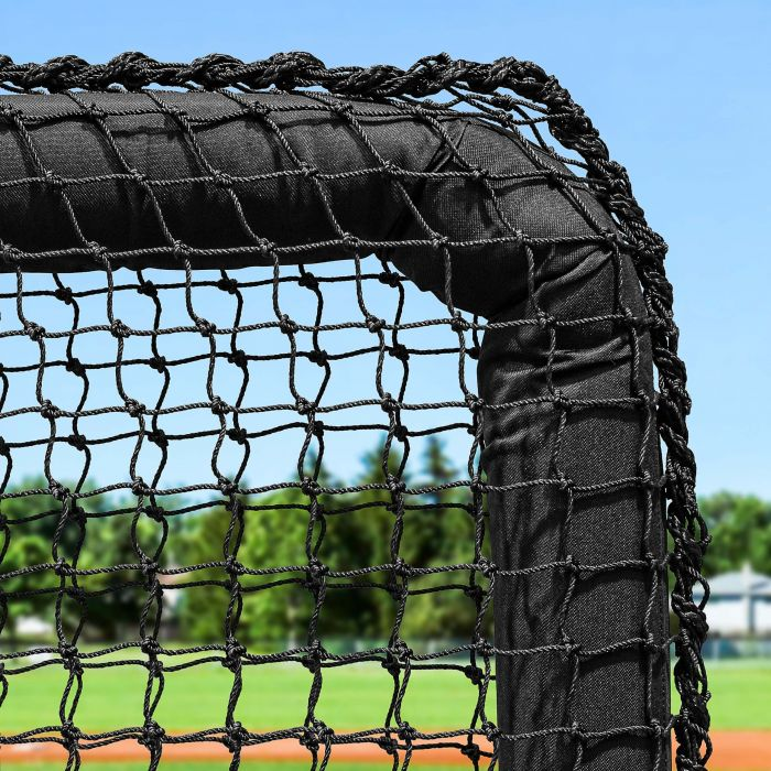 FORTRESS 7ft x 7ft Baseball L-Screen Frame & Net [Nimitz Edition]