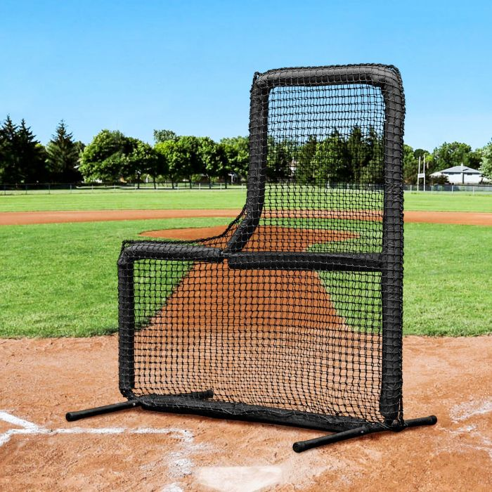 FORTRESS 7ft x 7ft Baseball L-Screen Frame & Net