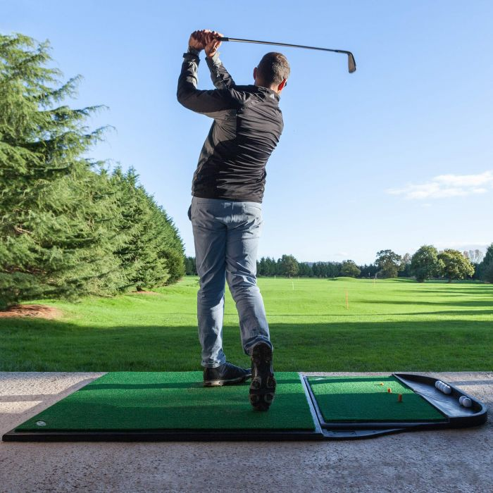 Professional Golf Practice Mat For All Weather Conditions | Net World Sports