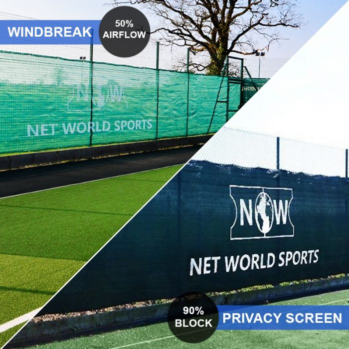 Professional Grade Tennis Court Windbreaks & Privacy Screens