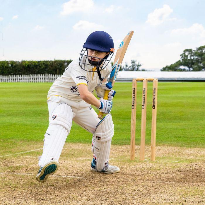 Professional Grade Wooden Cricket Stumps   Net World Sports