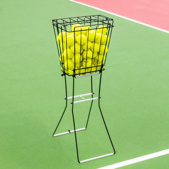 Professional Tennis Ball Basket With 72 Ball Capacity | Net World Sports