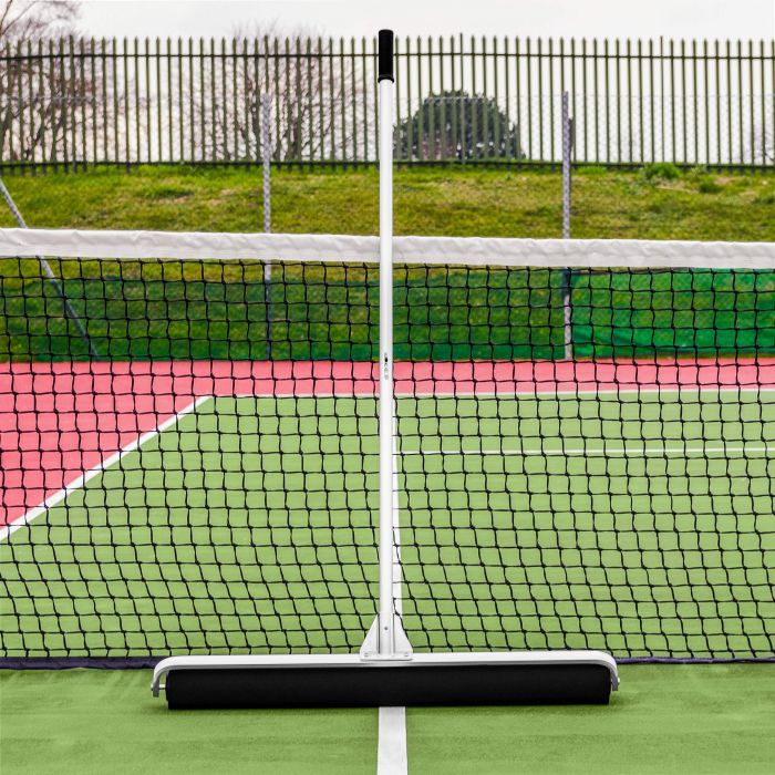Clear Your Tennis Courts in Minutes With The Tennis Court Squeegee | Net World Sports