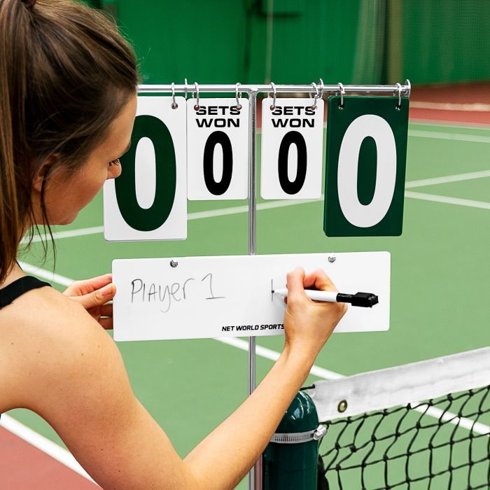 Tennis Court Scoreboard For Tennis Posts | Net World Sports