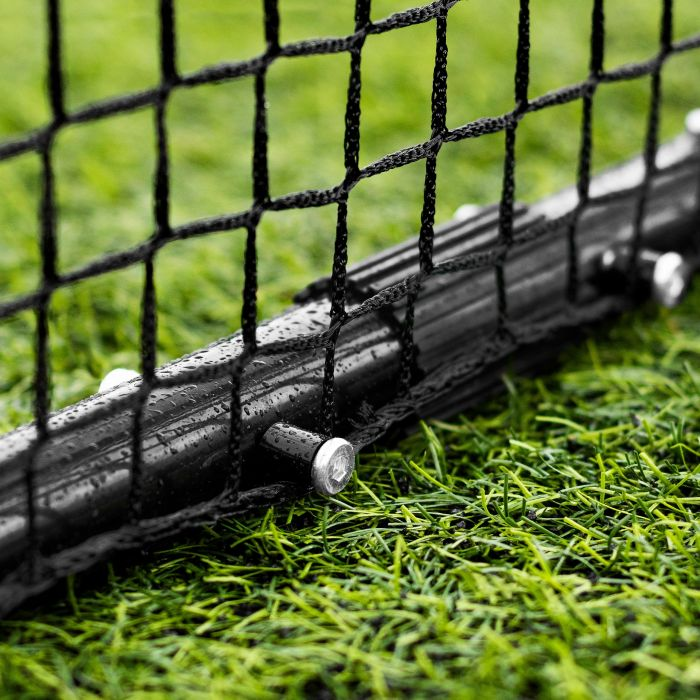 Powder Coated Black Frame With Net Saving Technology | Net World Sports