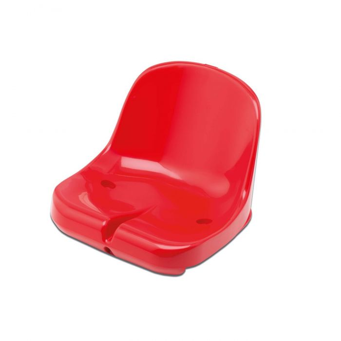 Red Moulded HDPP Seats for Sports Dugout & Shelters | Net World Sports