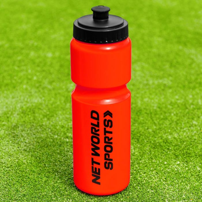 Red Sports Drink Bottle