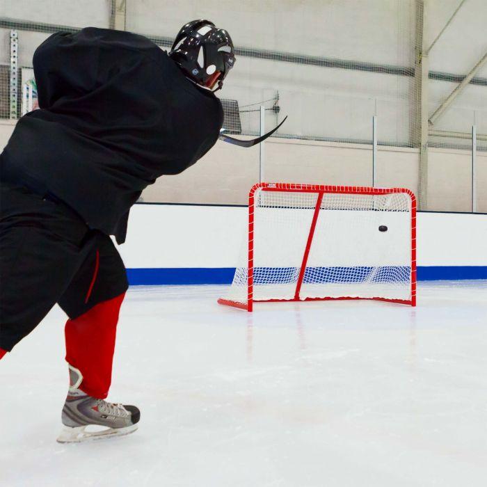 Ultra Durable Regulation Ice Hockey Goal & Net   Net World Sports