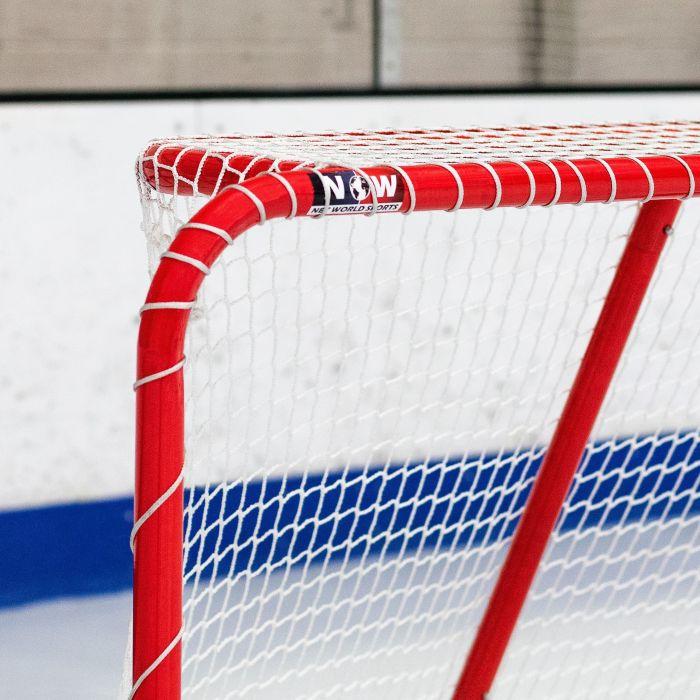 Hockey Net With 1.5in Galvanized Steel Frame | Net World Sports