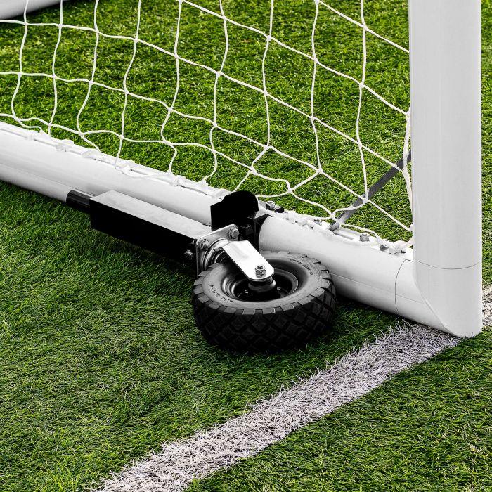 Rotational Wheel For Soccer Goals