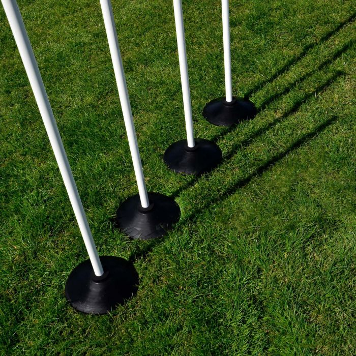 Rounders Bases & Poles (Set of 4) | Net World Sports