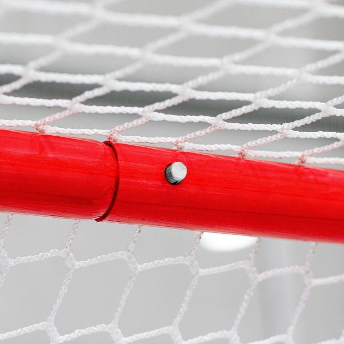 Ice Hockey Goal With High Quality Steel Frame   Net World Sports