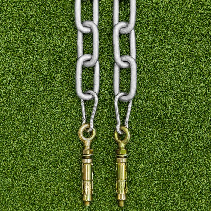 Wall Anchoring Chains For Freestanding Cages