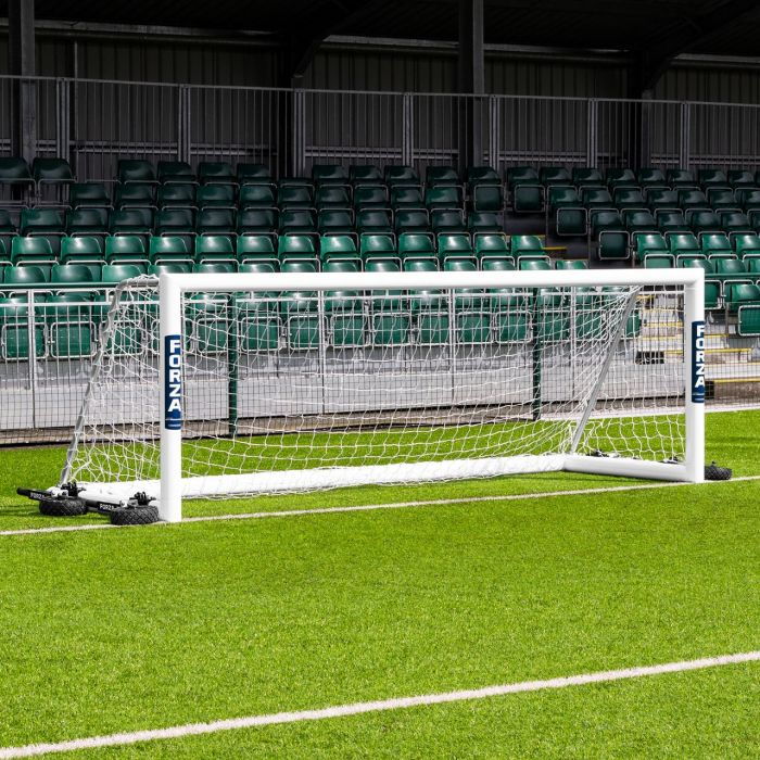 12 x 4 FORZA Alu110 Freestanding Football Goals