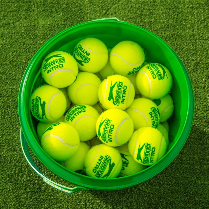 Slazenger Intro Tennis Balls | Stage 1 | Green | 60 Balls