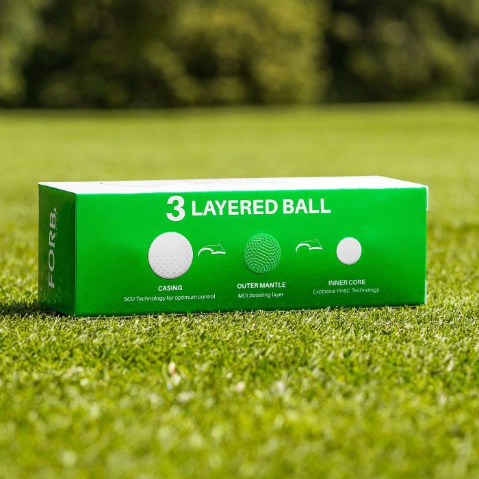 FORB F-3 Ultra Precision Golf Balls | SCU Technology | Net World Sports