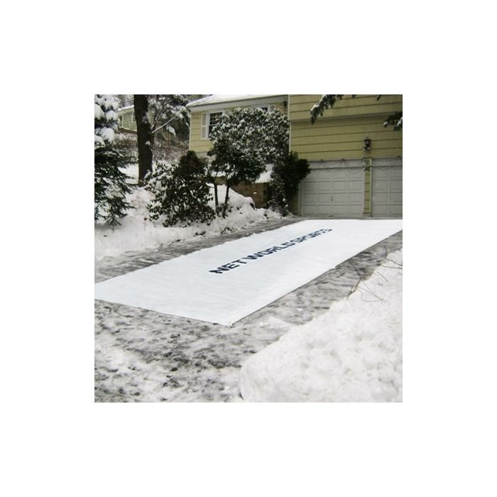 Winter Weather Tarpaulin [Driveway Snow Removal Tarp]