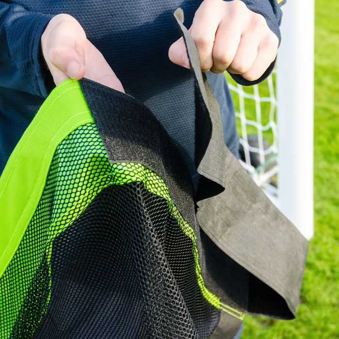 Soccer Goal Target Sheets With Strong Loop And Pin Straps