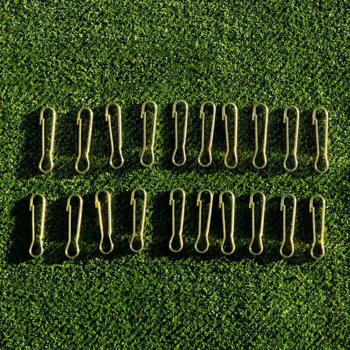 50 Cricket Net Spring Clips (Netting Accessories Set) | Cricket Netting | Cricket | Net World Sports