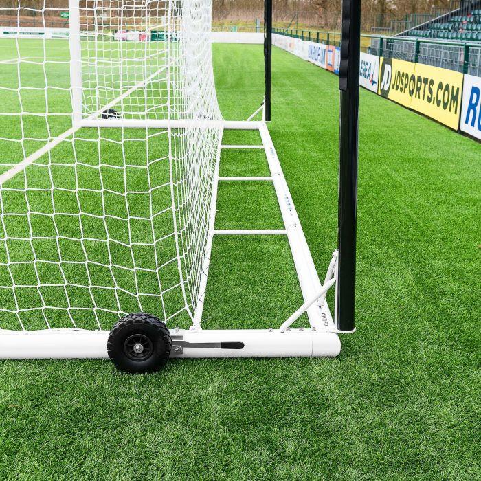 21 x 7 Professional Quality Stadium Box Soccer Goal