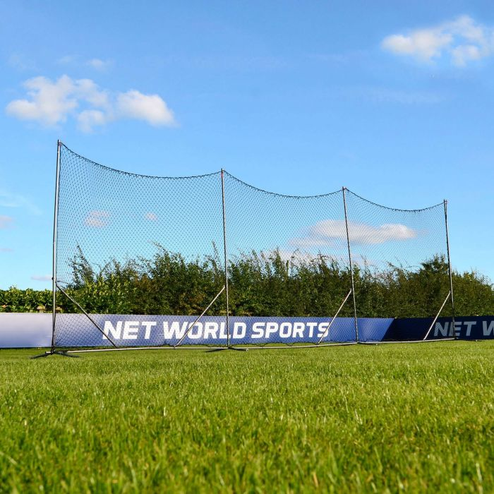 Field Lacrosse Backstop System | Lacrosse Ball Stop Netting
