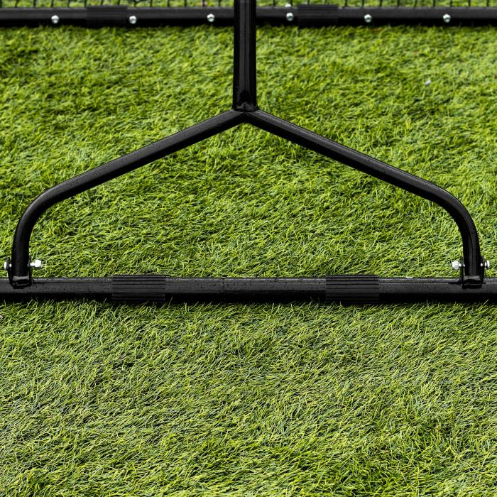 All-Surface Dual-Angle Soccer Rebounder Net