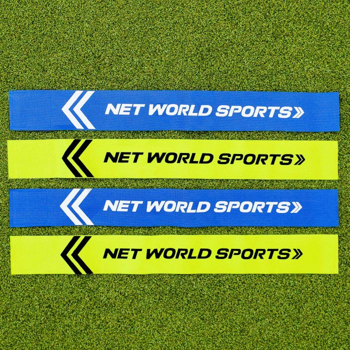 Green Or Blue Tags For American Flag Football