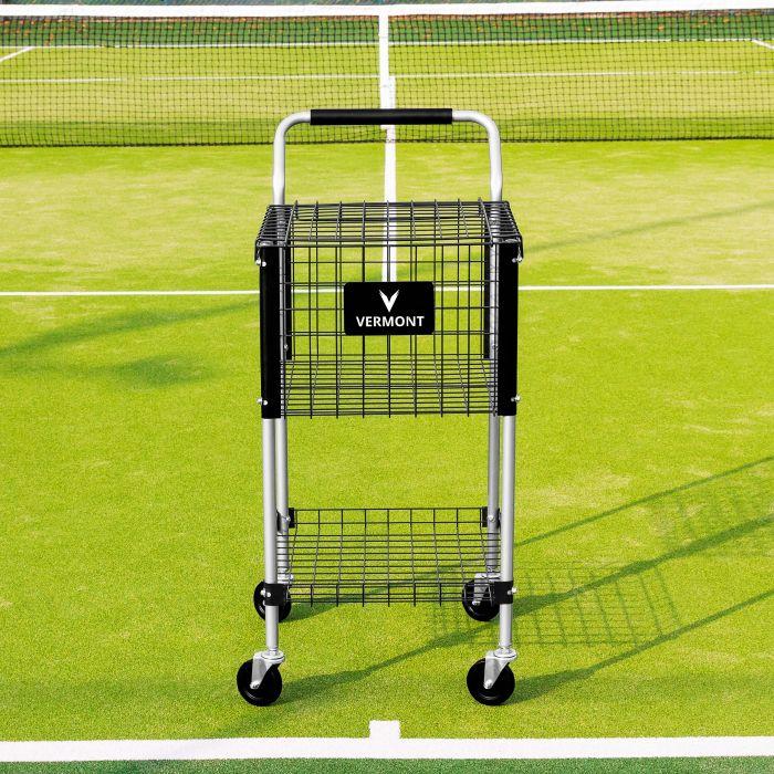 Tennis Ball Trolley With Four Heavy Duty Wheels | Net World Sports