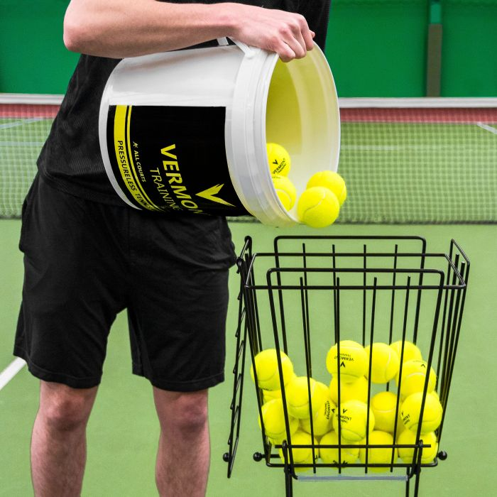 Excellent Tennis Ball Capacity Basket | Net World Sports