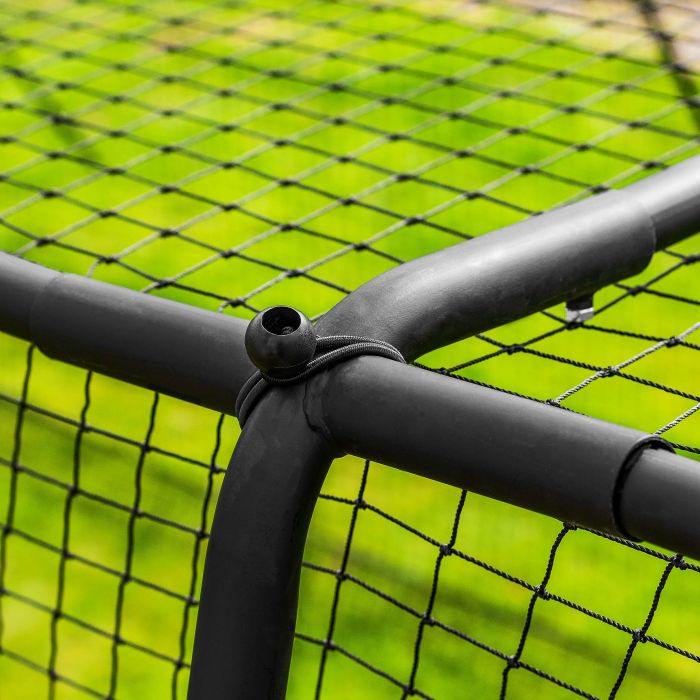 40mm Steel Four Way Corner Connectors | Net World Sports