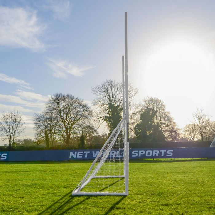Lightweight & Portable GAA Gaelic Football Goal Posts & Net | Net World Sports