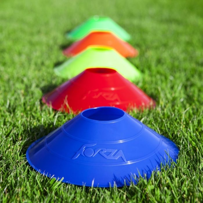 Ultra Durable Plastic Training Cones For Tennis Courts