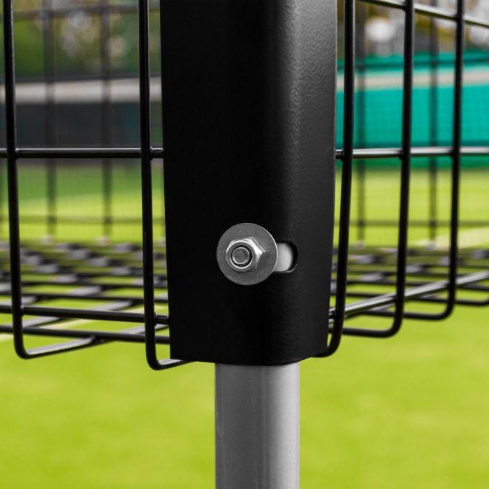 Heavy Duty Aluminium Tennis Ball Trolley | Net World Sports